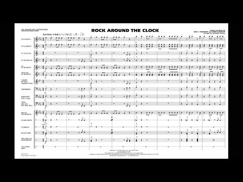 Rock Around the Clock arranged by Johnnie Vinson