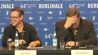 MONUMENTS MEN - Ungewöhnliche Helden - Pressekonferenz 1/2 - Berlin HD German Premiere Germany