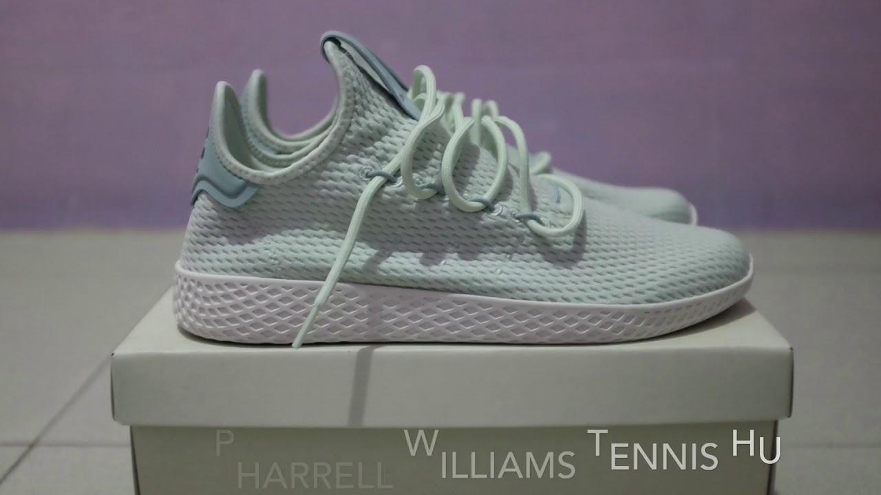 29158cce974a ADIDAS PHARRELL WILLIAMS TENNIS HU (SHORT REVIEW   ON FEET INDONESIA ...