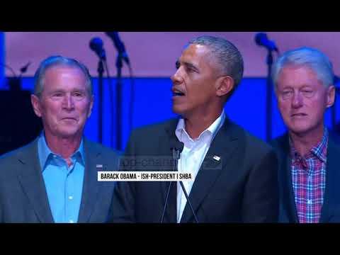 Koncert bamirësie, mblidhen 5 ish-presidentë amerikanë - Top Channel Albania - News - Lajme