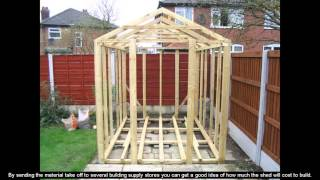 8x10 Cheap Shed Plans Diy Infinitube