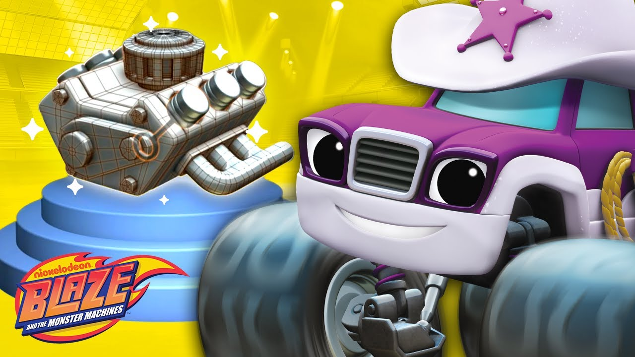 Learn About Engines W Blaze Starla Truck Talk 2 Blaze And The Monster Machines Youtube