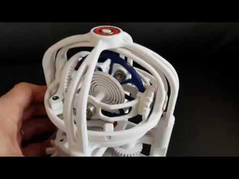 Gyrotourbillon - printed 3D
