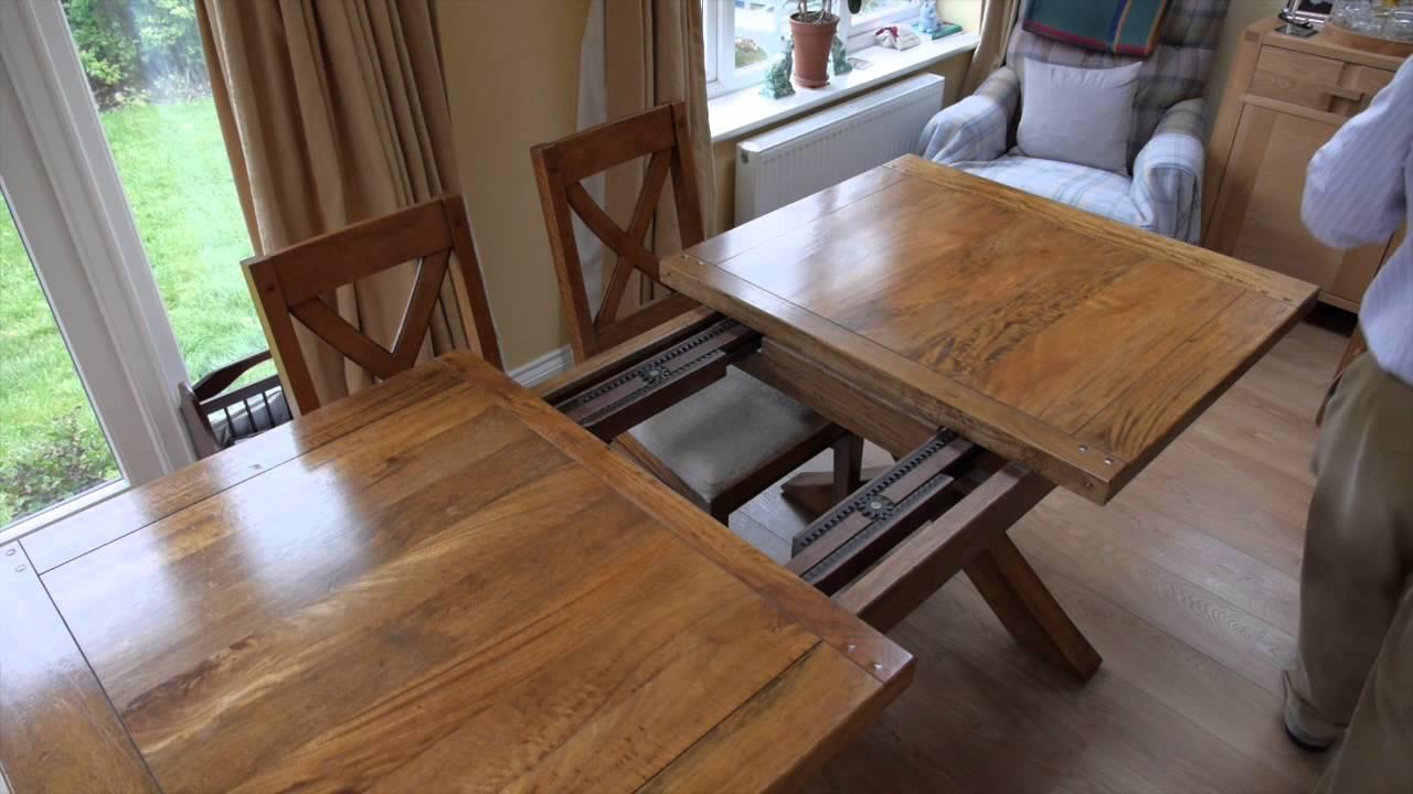 mango wood dining table youtube. Black Bedroom Furniture Sets. Home Design Ideas