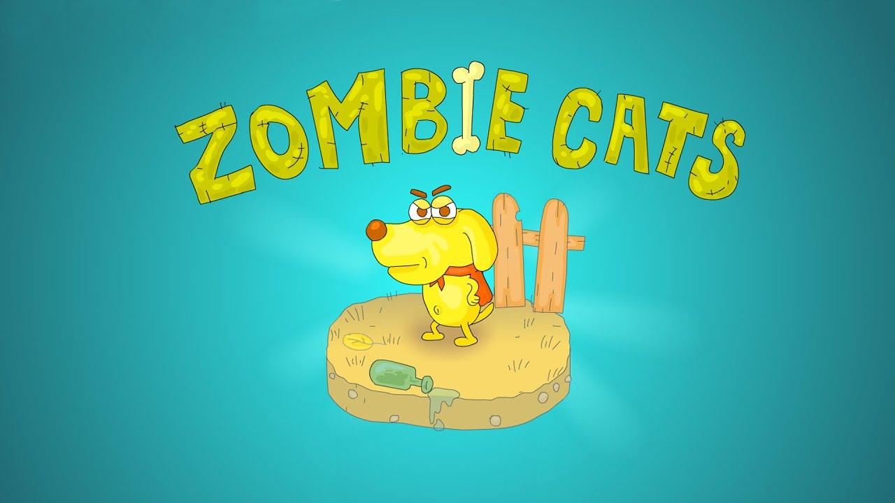 Играть зомби котов
