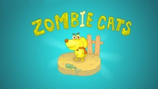Мультики про зомби: Коты зомби | Zombie cats - GF4Y.COM
