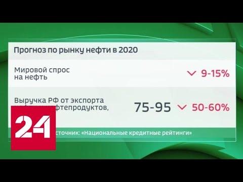 Меньше нефти - меньше доходов: выручка России может упасть на 50-60 процентов - Россия 24