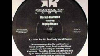 Markus Enochson feat Ingela Olsson - Listen For It (Ian Friday