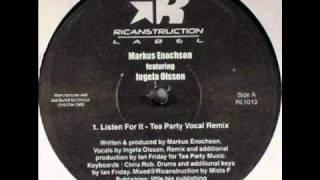 Markus Enochson feat Ingela Olsson - Listen For It (Ian Friday