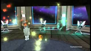 Playstation Home Space Station under attack