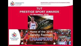 TUT Prestige Sport  Awards 2018