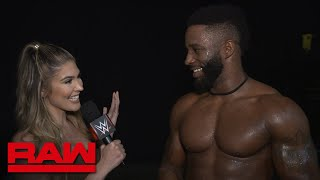 "Cedric Alexander feels ""invincible"": Raw Exclusive, Aug. 19, 2019"