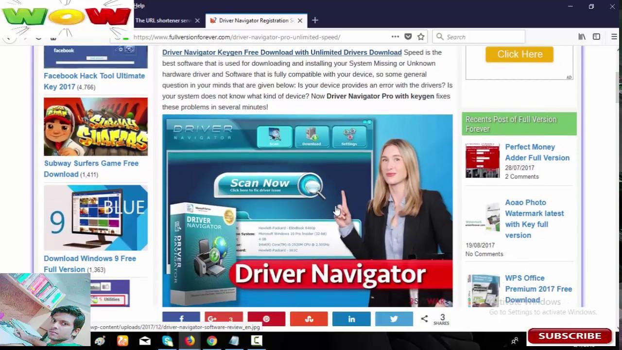 Driver navigator free