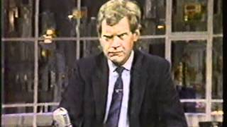 SMALL TOWN NEWS on David Letterman 1980