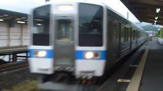 JR九州415系1500番台長崎本線回送 西諫早駅通過