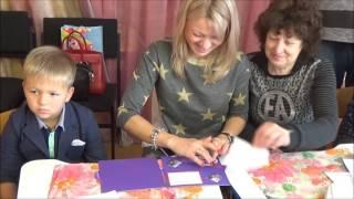Урок изобразительного искусства - детский сад