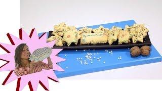 Biscotti - Stelline di Natale con Noci Senza Burro - Le Ricette di Alice