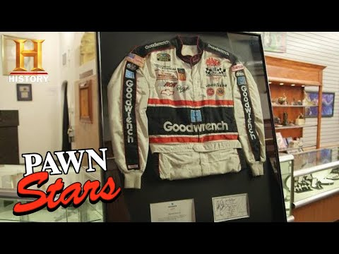 Pawn Stars: High Price for Dale Earnhardt Sr. Racing Suit (Season 16)   History