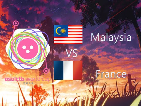 osu! Catch the Beat World Cup 2015 Group Stage - Group A - Malaysia vs France