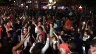 Virginia celebrates NCAA basketball championship