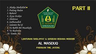 AL MASDUQ PART 2 qasidah modern religi gambus rebana klasik full album
