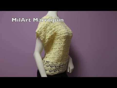 Blusa Fácil Crochet para Principiantes - ViYoutube
