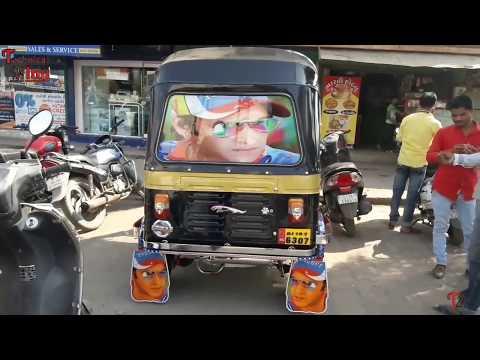 Bajaj auto rickshaw full modified ll how to modified bajaj auto rickshaw