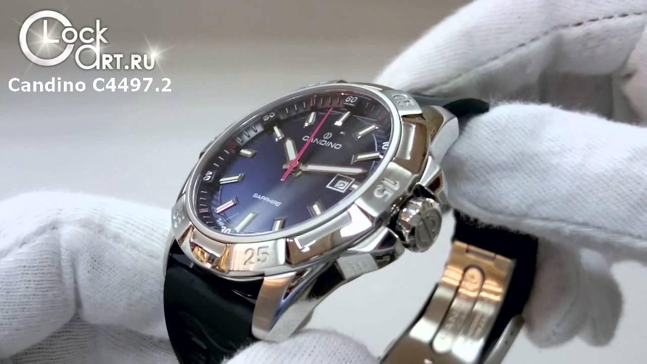 ec5c1aad856d Наручные часы Candino PlanetSolar C4497.2 - YouTube