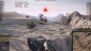 Т-54 образец 1. Рекордный бой. Песчаная река