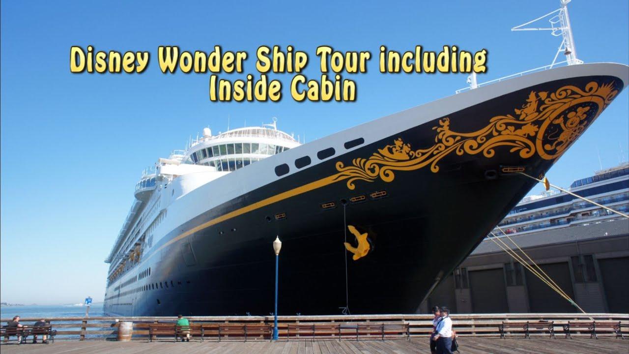 Disney Wonder Ship Tour (HD)