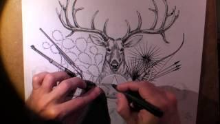 Hunting Illustration