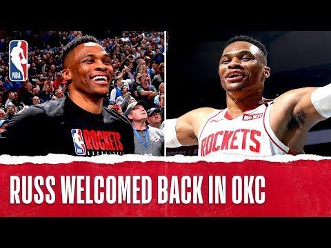 OKC Welcomes Back Russ!