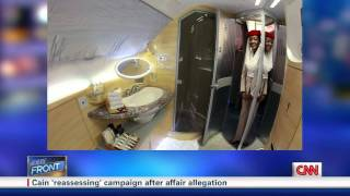 Erin Burnett Asks Why American Airlines Doesn't Have Showers in First Class