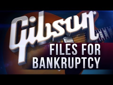 Gibson Files for Bankruptcy Finally - What Happens Next?