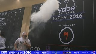VC Cloud Championship 2016 - World Vapor Expo - Men's Biggest Cloud