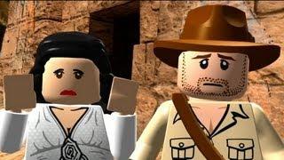 LEGO Indiana Jones: The Original Adventures Walkthrough Part 3 - Pursuing the Ark & Opening the Ark