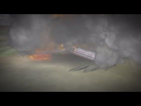 Katastrofa samolotu prezydenta Kaczyńskiego. Zobacz, jak doszło do tragedii. Źródło TVN24