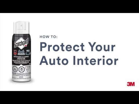 scotchgard auto fabric carpet protector how to apply youtube. Black Bedroom Furniture Sets. Home Design Ideas