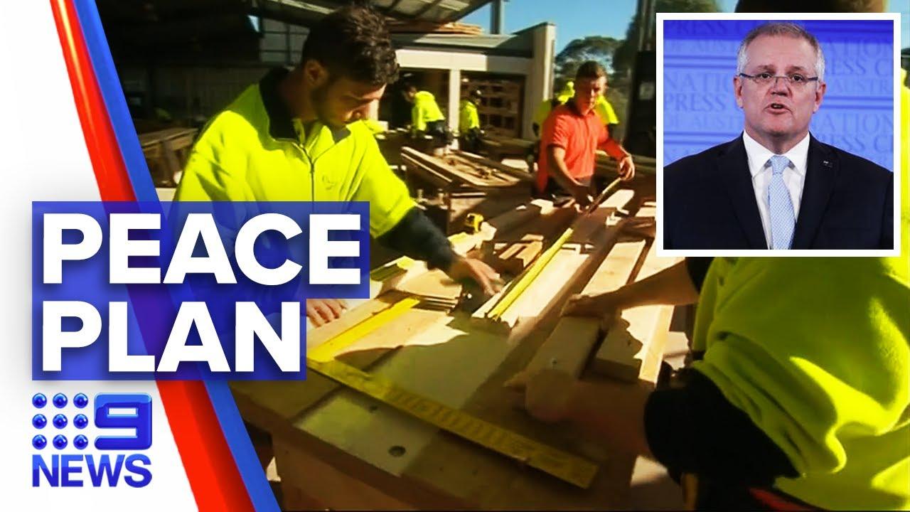 Coronavirus: Prime Minister fighting to reset the economy | Nine News Australia