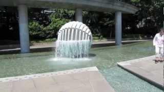和田倉噴水公園とパレスホテル東京