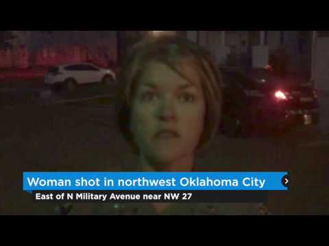 Woman shot in northwest Oklahoma City Wednesday