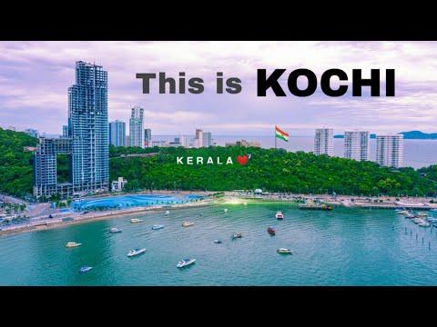 Kochi City    commercial capital of Kerala🌴Cinematic views 🇮🇳