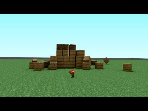 TNT Explosion : Minecraft Test Animation