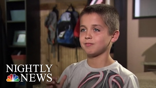 8-Yr-Old Basketbal Star Says Being Deaf Has No Limits | NBC Nightly News