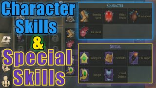 Grim Soul Dark Fantasy : #132🔥Character Skills & Special Skils Everything You Need To know🔥