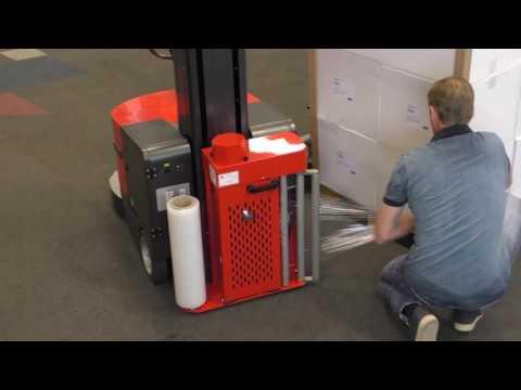 WikkelRobot CTP 600 | Palletwikkelaar | De Witt EVS