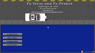 To Serve and To Protect gameplay (PC Game, 1994)