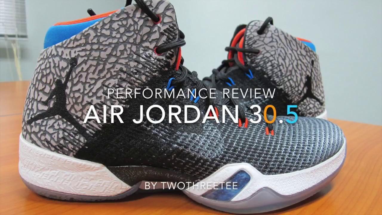 d6ed45eb4f49 Air Jordan 30.5 Performance Review (Thai) - YouTube