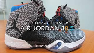 various colors f3abe f7bc7 Air Jordan 30.5 Performance Review (thai)