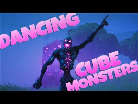 DANCING CUBE MONSTERS LMAO! (Fortnitemares)